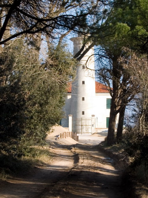 bibione, lighthouse