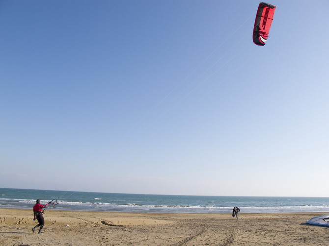lignano, kite surfer #2
