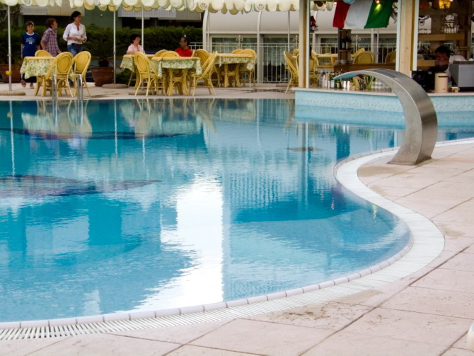 lignano, swimming pool