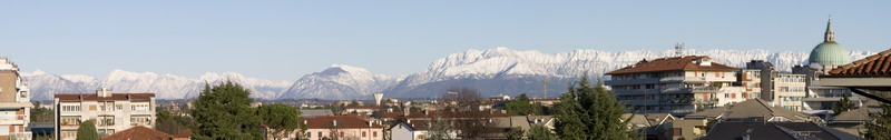 udine, snowy mountains